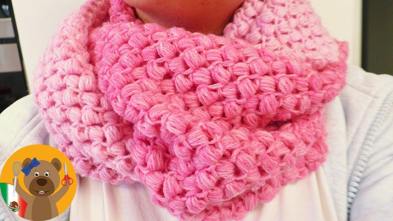 Aprende a tejer un hermoso chal redondo con patrón en zig zag - YouTube
