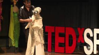 Quirky Puppet Characters | Varun Narain | TEDxSRCC