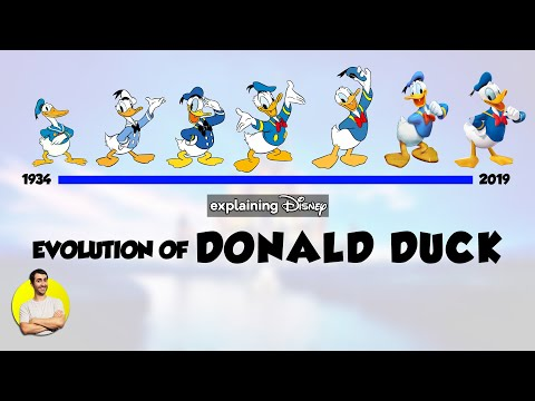Evolution of DONALD DUCK - 85 Years Explained | CARTOON EVOLUTION