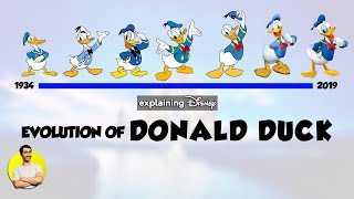 Evolution of DONALD DUCK Over 85 Years (1934-2019) Explained