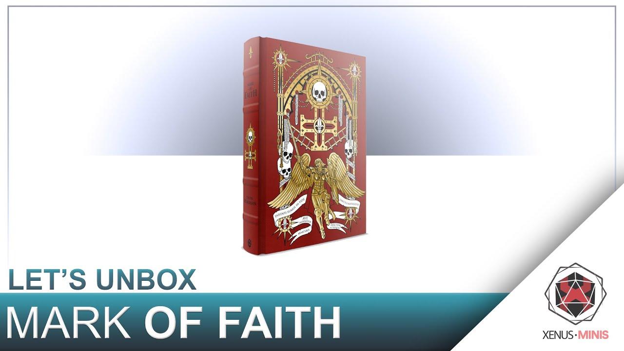 Mark of Faith LIMITED EDITION BOOK WARHAMMER 40K Sisters of Battle Adepta Sorori