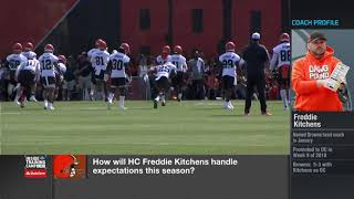 Gambar cover How will Freddie Kitchens handle expectations this season | Cleveland Browns