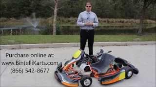 Bintelli Karts S1 Racing Go Karts For Sale - Adult Racing Kart Now Available!
