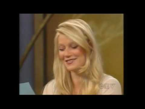 Gwyneth Paltrow - Interview Oprah (singing Nappies)