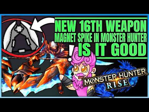 Magnet Spike the New 16th Monster Hunter Weapon  Fun or Failure  Full Breakdown  Monster Hunter!