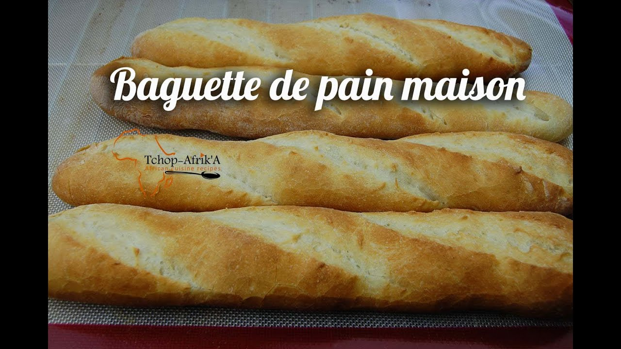 Baguette de pain maison youtube for Baguette de pain maison