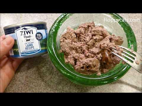 Ziwi Peak Lamb Canned Cat Food Product Review - ねこ - ラグドール - = ネコ - Floppycats