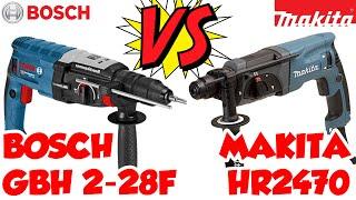 makita HR2470 VS Bosch GHB 2-28 F
