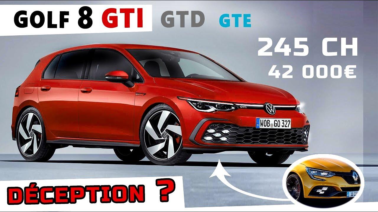 Golf 8 Gti 2020 Des Airs De Renault Megane 4rs Youtube