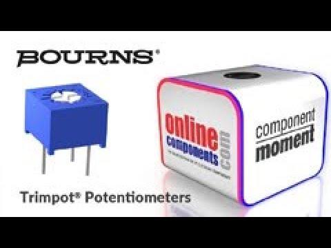 Component Moment: Bourns Trimpot Potentiometers