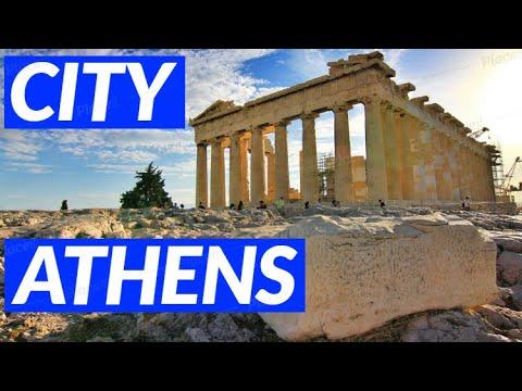 Athens Greece 2017 Ancient Acropolis Parthenon Agora travel tour vacation video