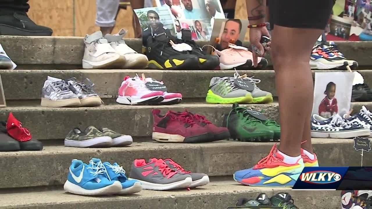 Walk in our Shoes: Families of homicide victims meet to honor loved ones lost