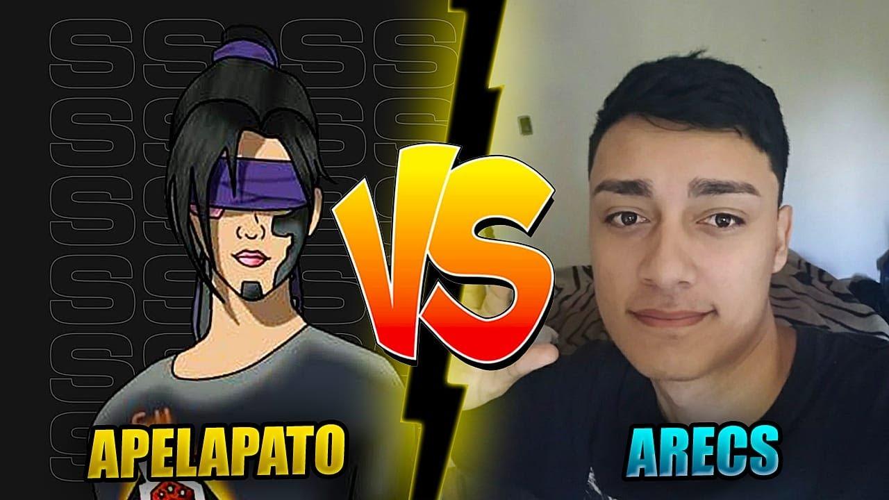 APELAPATO VS ARECS NO X1 INSANO DA PENEIRA FAIT??? FREE FIRE