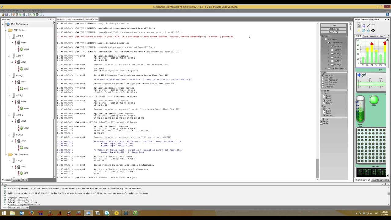 4 DTM DNP3 Protocol Analyzer