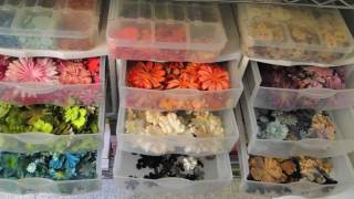 Organizing and Storing Embellishments for Card Making & Scrapbooking