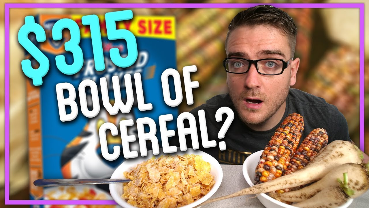How To Make Cereal That Costs $315