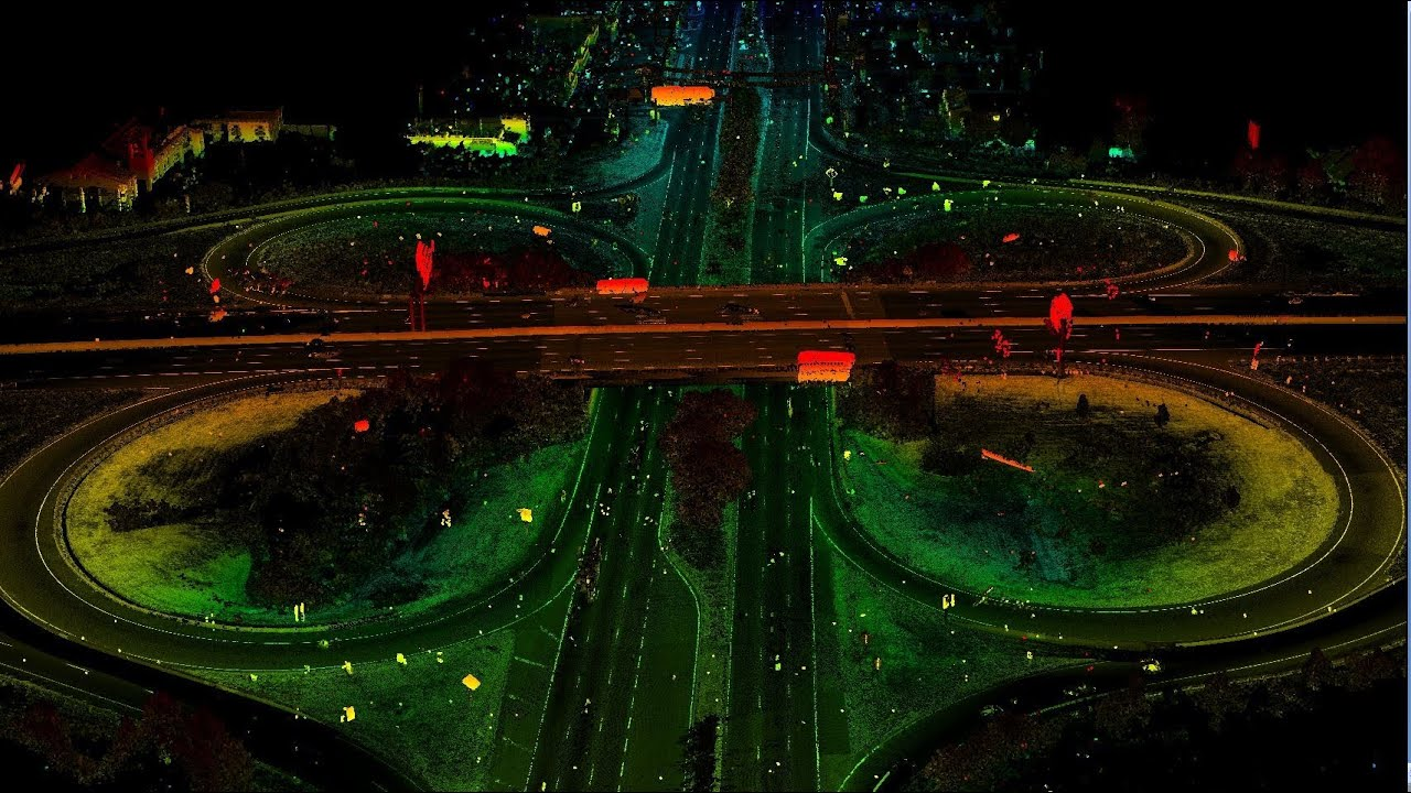 Mobile LIDAR enables high resolution vehicle-based mapping ...