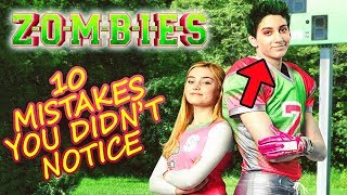 DISNEY ZOMBIES 🧟 10 Mistakes You Didn't Notice in the Disney Channel Original Movie ⭐ Born2BeViral