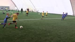 CZ7-Fc Yellow Junior z Kudełkiem w Legnicy pod balonem -Juventus Legnica - VII meczyk -Decathlon Cup