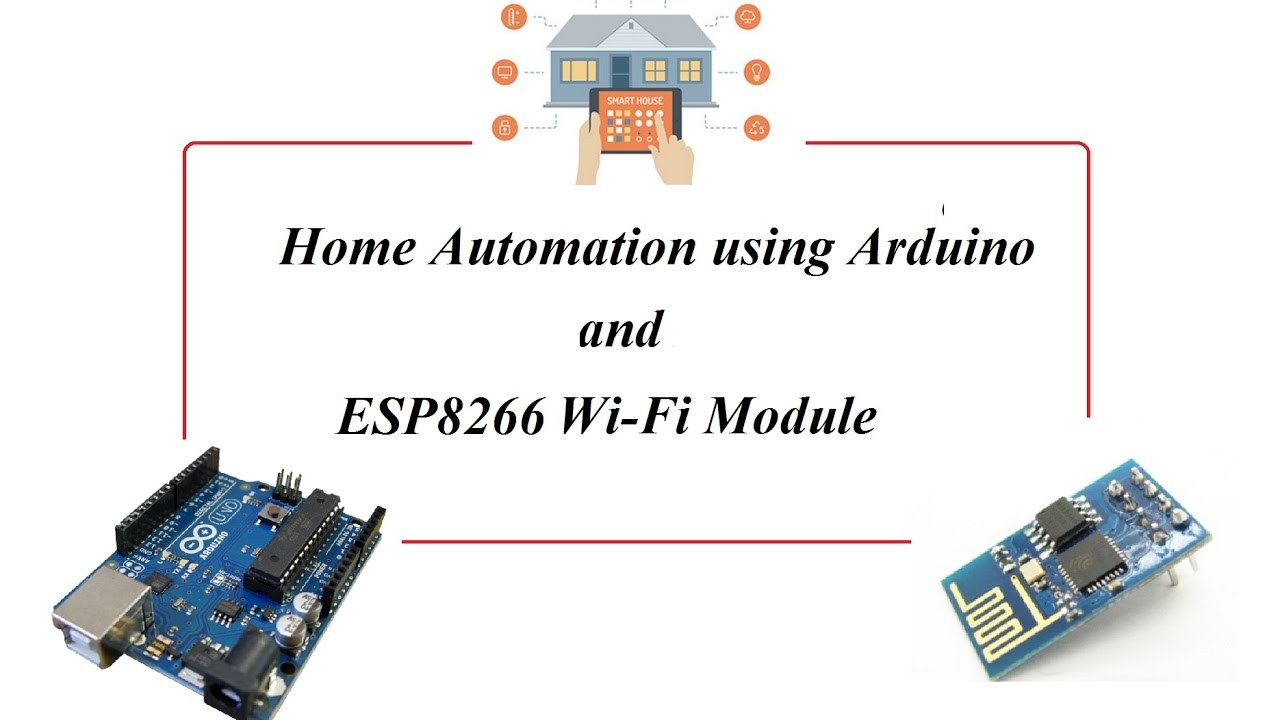 Vaak Arduino Based Wi-Fi Enabled Home Automation using ESP8266 - YouTube @SY39
