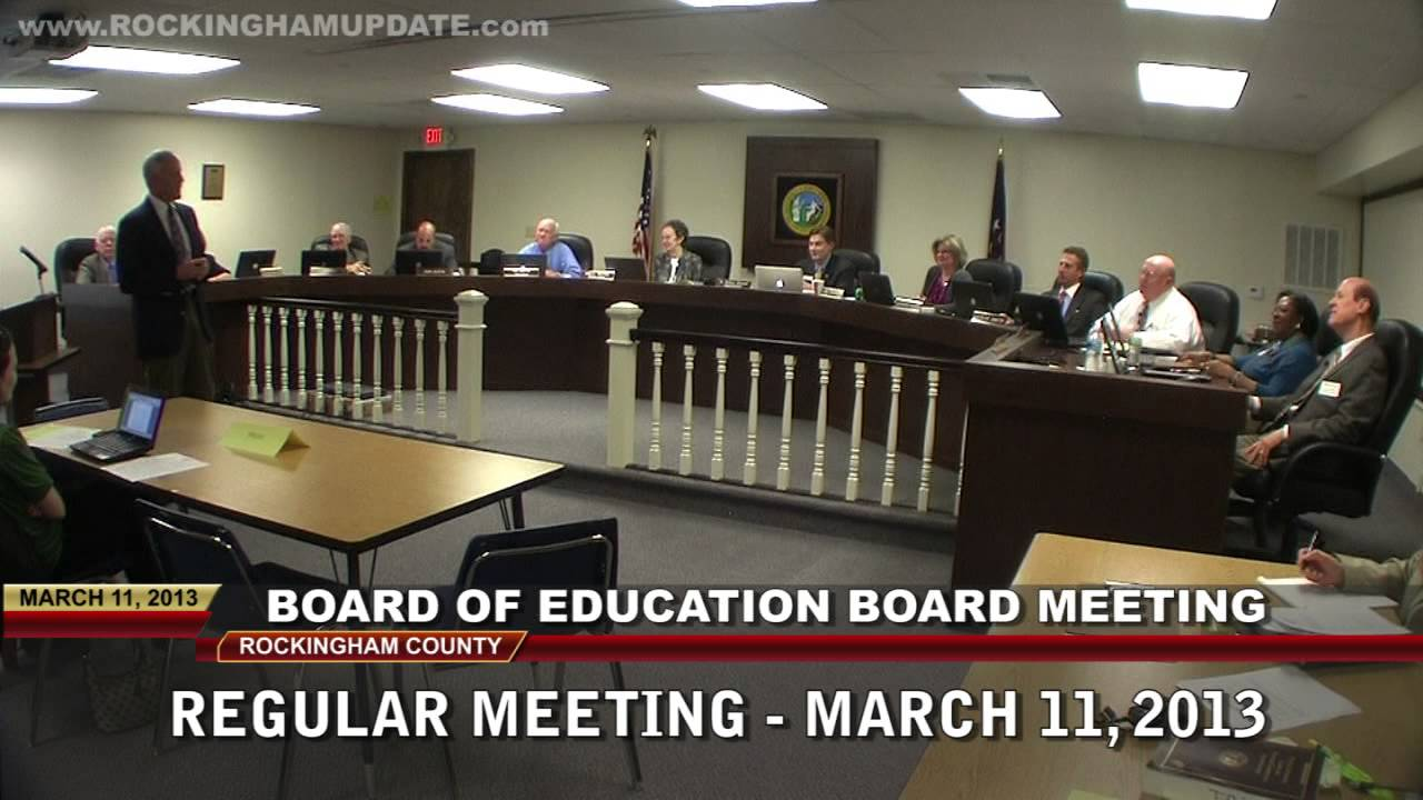 Board of education meeting essay writer