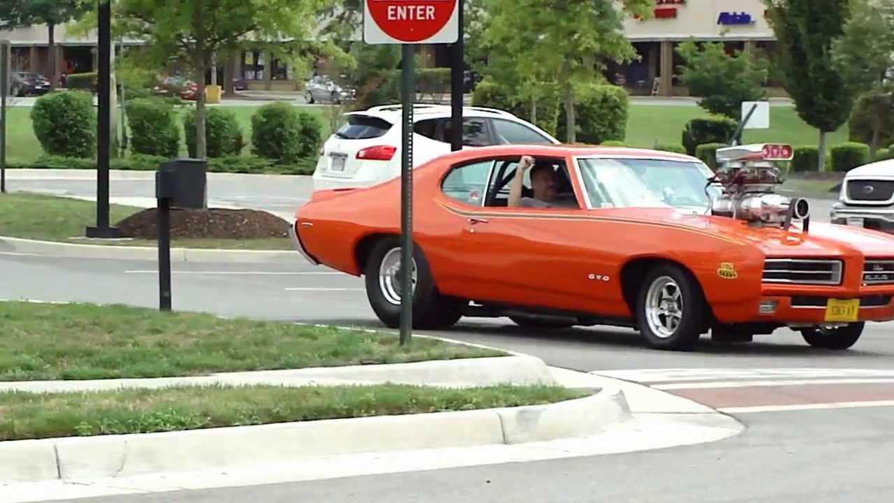 Gto Judge Blower Fours Pro Street Beast Crazy Insane Ride