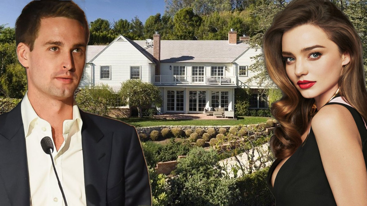 Snapchat CEO Evan Spiegel's and Miranda Kerr's new house ... миранда керр и эван шпигель
