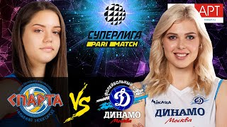 "22.01.2021 🏐 ""Sparta"" - ""Dynamo Moscow"" 