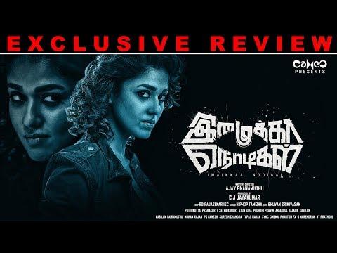 Imaikkaa Nodigal Movie Review | Kalakkalcinema | Nayanthara | Atharvaa | Anurag Kashyap