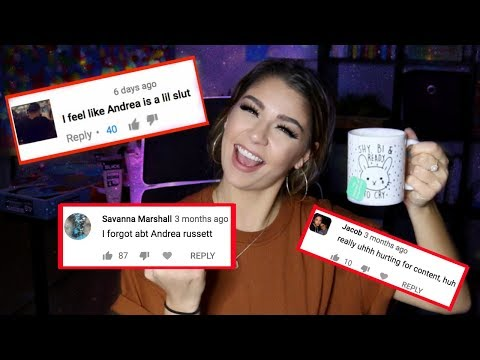 Reading Hate Comments | Andrea Russett