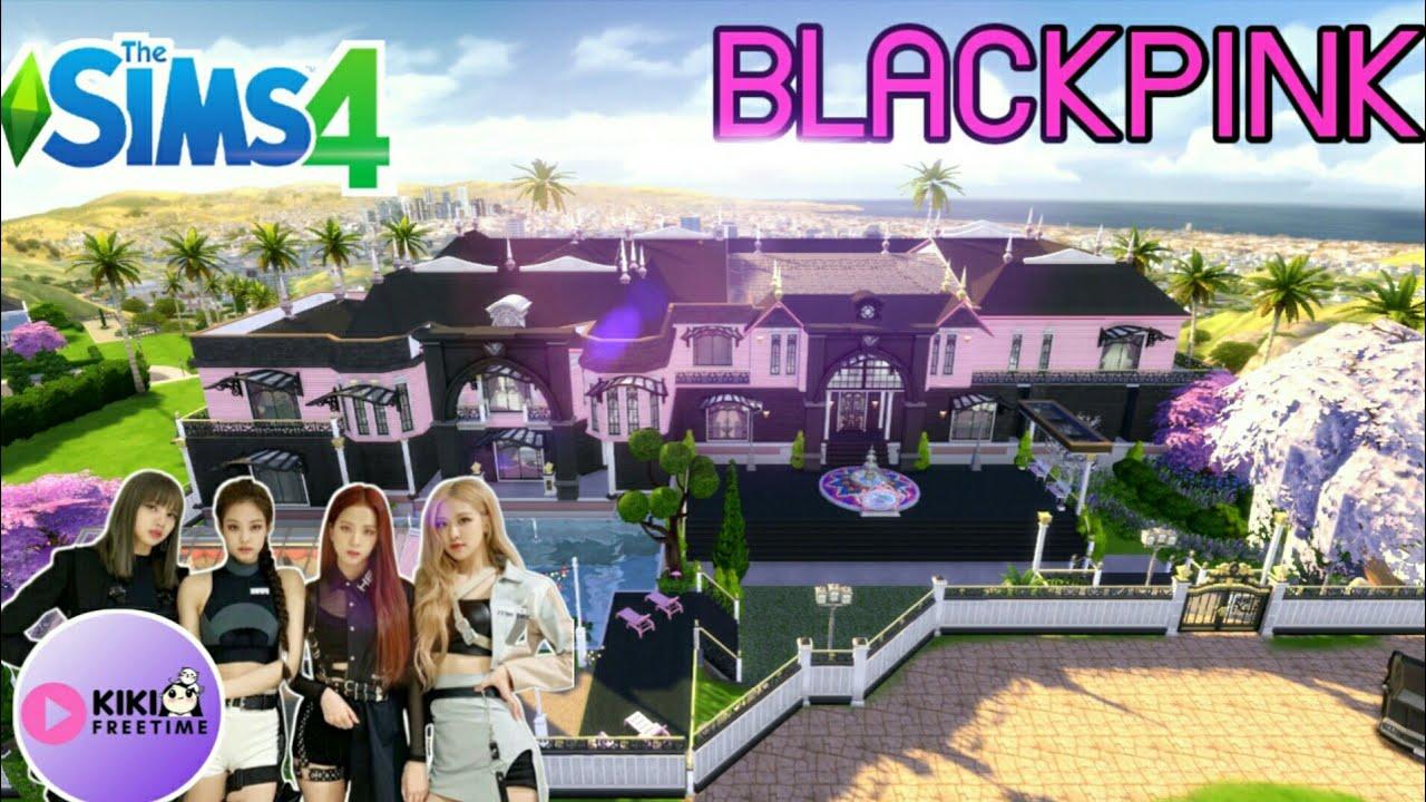 The Sims 4 [สร้างบ้าน ] คฤหาสน์สุดหรูแห่งวง BLACKPINK l Speed Build l NO CC🕍