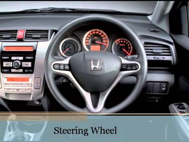 Honda City Model Specification Exterior Interior Appearance