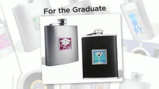 Personalized Flasks - 100s of Designs