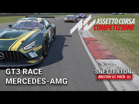 GT3 Race at Snetterton | Assetto Corsa Competizione | BRITISH GT PACK DLC |
