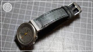 [Leder-Handwerk] Herstellung Armband / Braun AW 60 3806 Gurt
