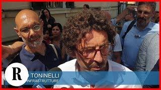 Toninelli a Genova: