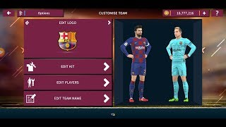 ... dream league soccer 2019 beginner - import kit fc barcelona 2019-2020 ,dream soc...
