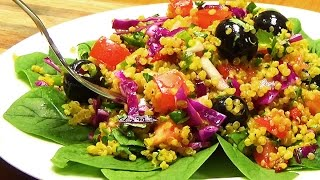 Quinoa Salad with Saffron
