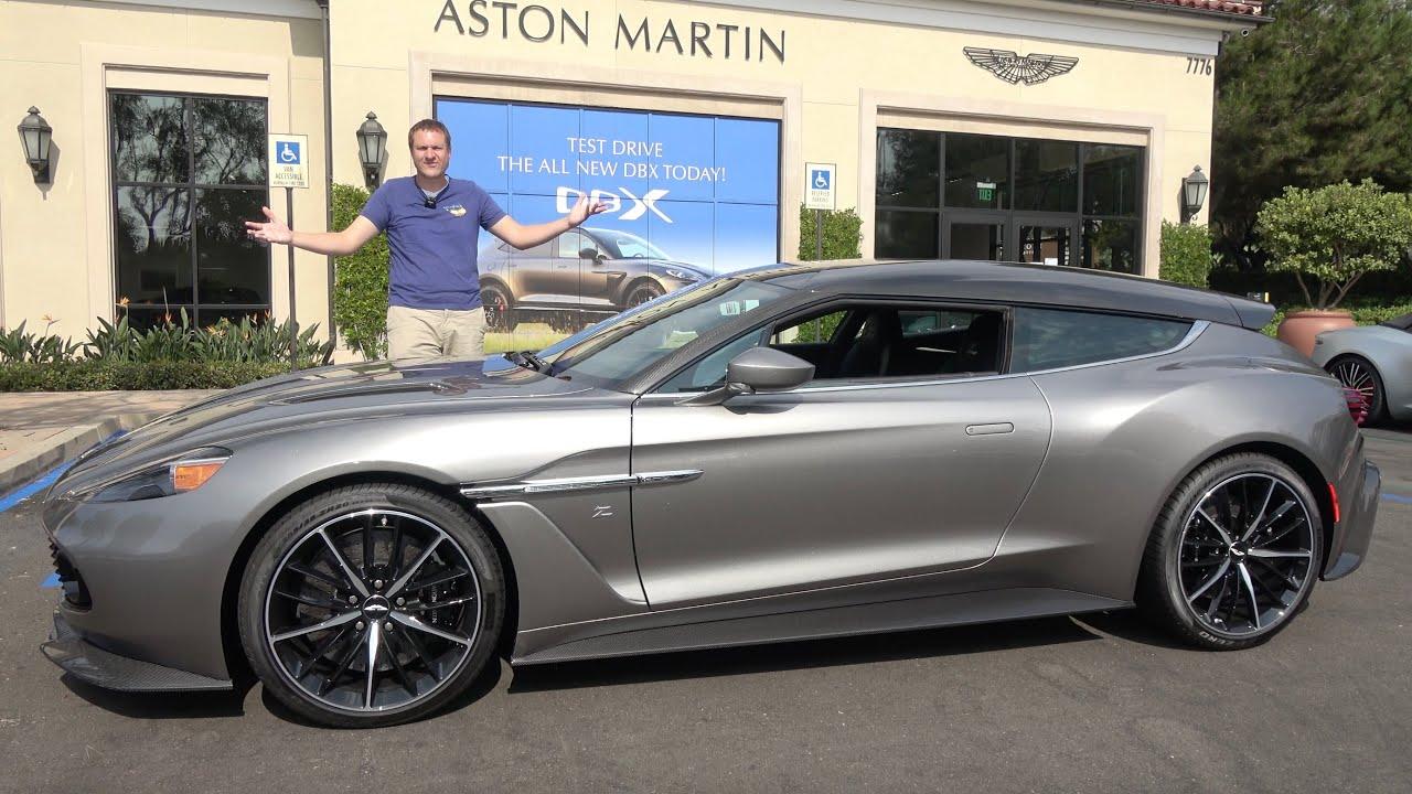 The Aston Martin Vanquish Zagato Shooting Brake Is A 1 Million Hot Hatchback Youtube