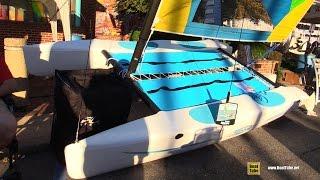 2016 Hobie Wave 13 Catamaran - Walkaround - 2015 Annapolis Sail Boat Show