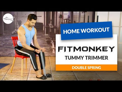 Muscle Building Tips | Lockdown Workout At Home | FitMonkey Tummy Trimmer By Snapdeal
