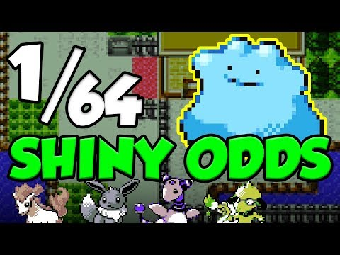 1/64 SHINY POKEMON ODDS IN GOLD AND SILVER VERSION! Shiny Pokemon Guide