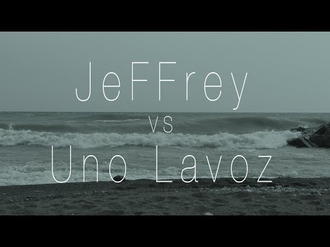 KOTD - Rap Battle - JeFFrey vs Uno Lavoz | #GZ