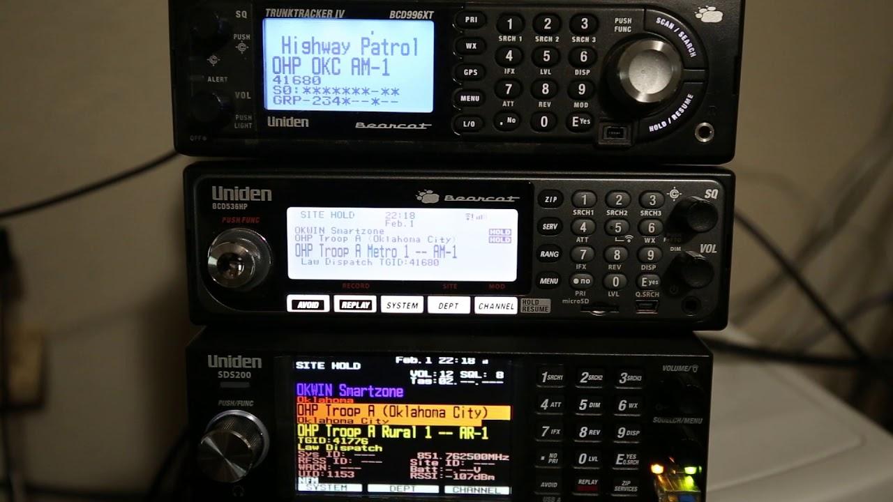 Uniden SDS200 comparison