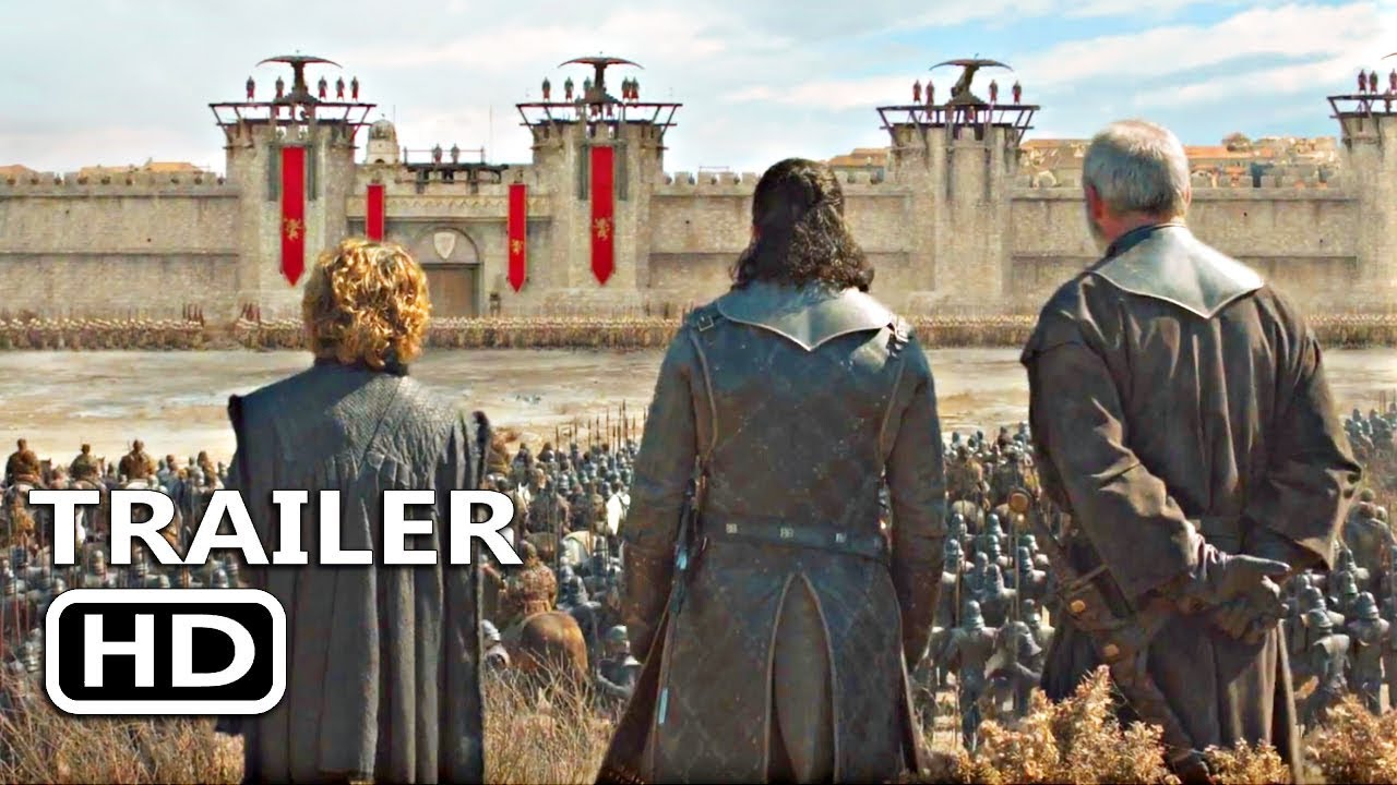 GAME OF THRONES SEASON 8 EPISODE 5 Trailer Teaser (2019) GOTS8E5