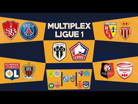 🔴🎥 MULTIPLEX Live 10 Matchs   ANGERS-LILLE / LENS-MONACO / BREST-PSG / RENNES-NIMES / LYON-NICE...
