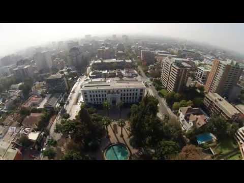 Video Aereo Plaza Ñuñoa - Santiago, Chile