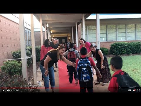 First day of school at Starmount Academy of Excellence!