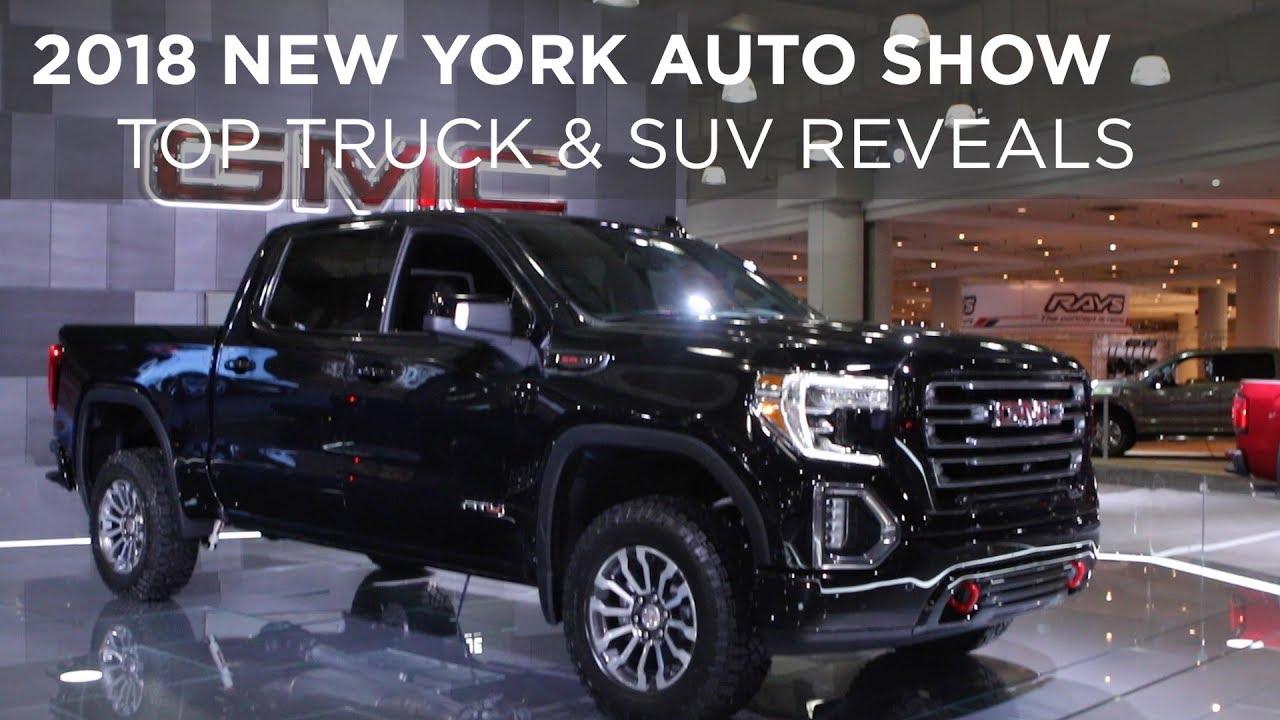 2018 New York Auto Show Top Truck Suv Reveals Driving Ca