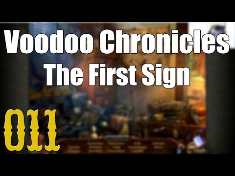 Let's play Voodoo Chronicles - First Sign [11] [HD] - Eine verrückte Lesestunde |